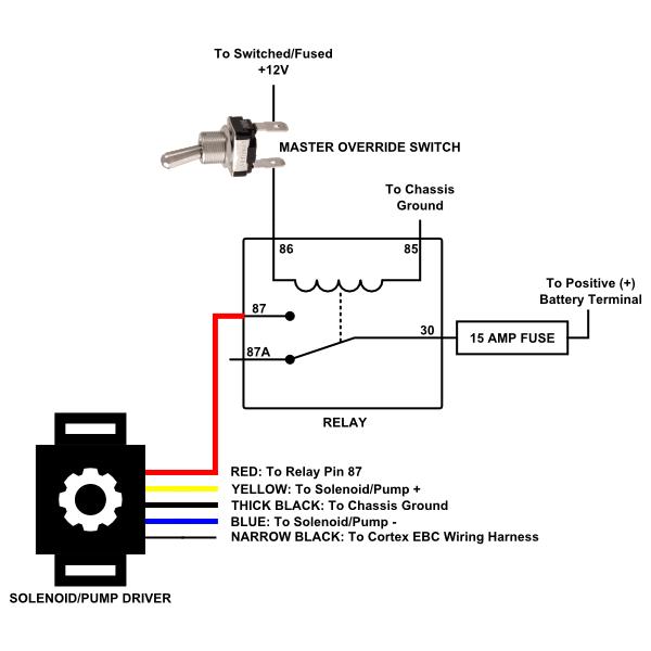 solenoid pump driver sirhc labs rh sirhclabs com Motor Control Wiring Diagrams Motor Control Wiring Diagrams